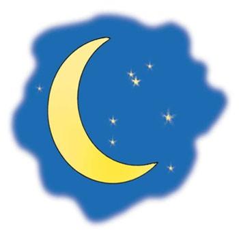 Місяць зорі погубив