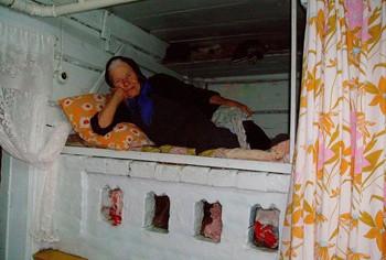 Баба на печі