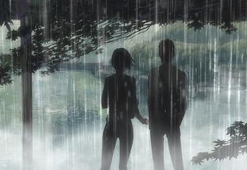 Дощ змиває кохання