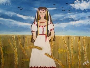 Дівчина-Україна