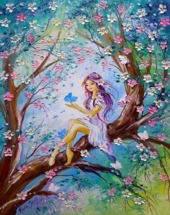 Весни моєї сяєво небесне