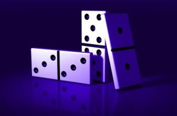 История возникновения игры домино.