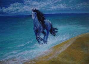 Блакитний кінь