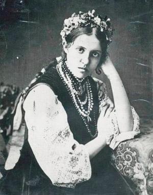 Ольга Липська - друга дружина композитора Миколи Лисенка та матір усіх його дітей.