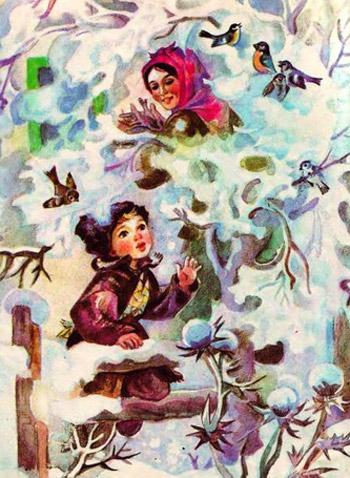"""Вірш """"Мамо, іде вже зима"""". Леся Українка."""