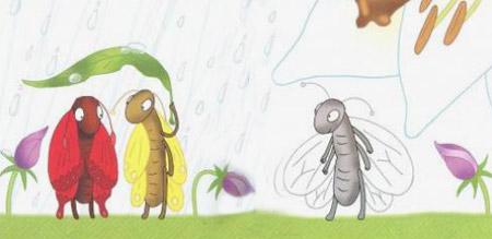 """Казка """"Три метелики"""". Леся Українка."""