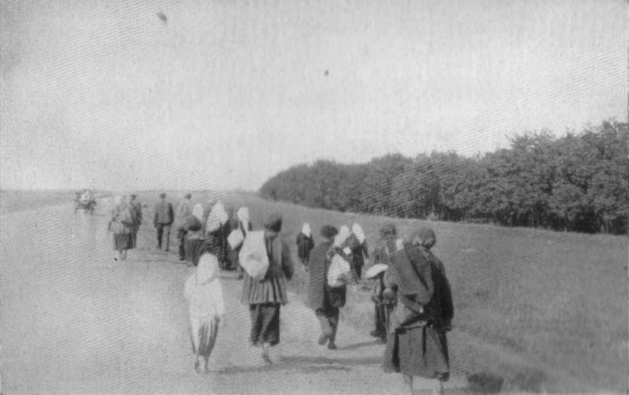Голод змушує селян мігрувати