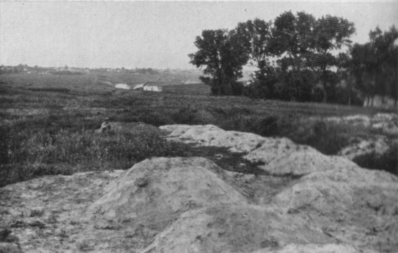 Масове поховання, що схоже на дюни