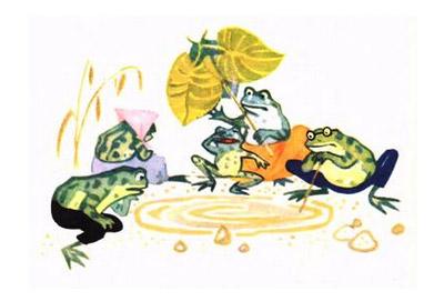 Вередливі жабки. Наталя Забіла.