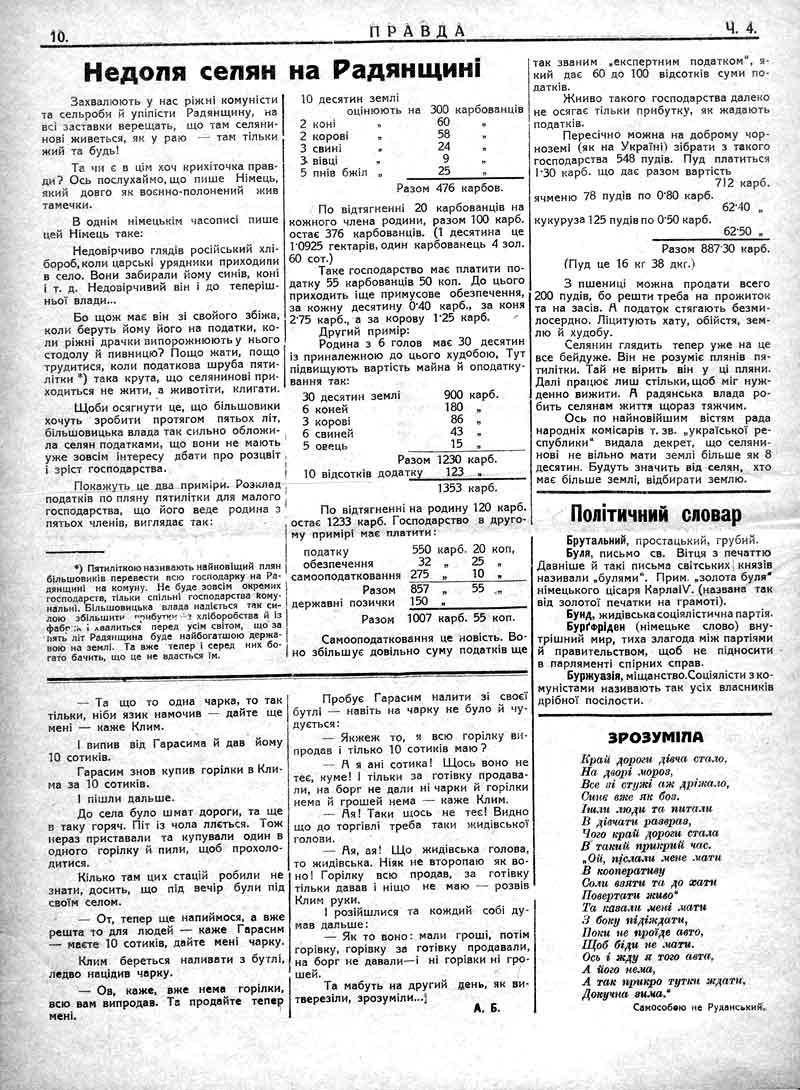 Січень 1930: Недоля селян на Радянщині.