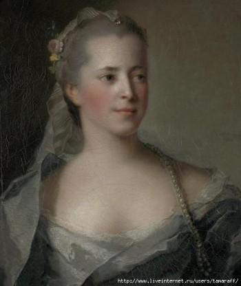 Ж. Натьє «Жіночий портрет»
