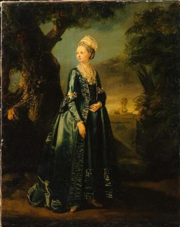 П. Фальконе «Дама в саду»