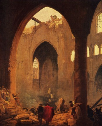 Ю. Робер «Зруйнування церкви»