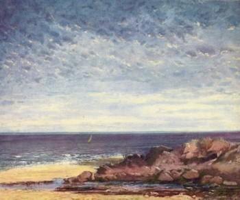 Г. Курбе «Море»