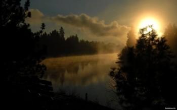 Злива на світанку