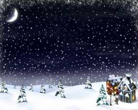 Сніг летить