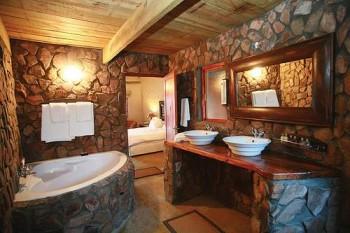 Современная плитка для ванной комнаты.