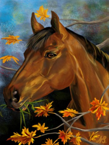 Жовтневий кінь
