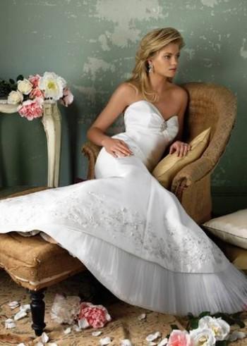 Свадебное платье типа – «рыбка», «русалка».