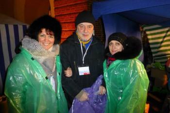 Польова кухня, або один волонтерський вечір на Євромайдані