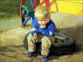 Із дитинства миті радісні й сумні