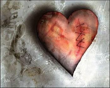 Серце згоріло