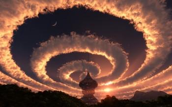 У Небо розгорнуті мантри...