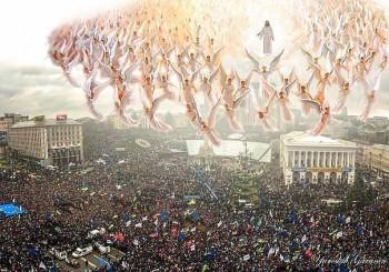 Каштановий цвіт на Майдані