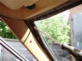 Замена стекол ВАЗ: лобового и заднего стекла.