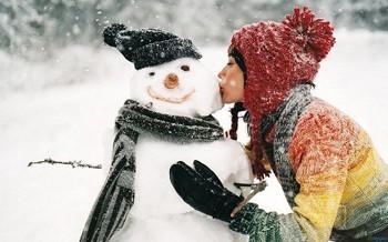 Любий сніговик
