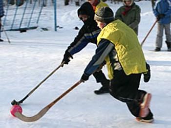 Хокей взимку