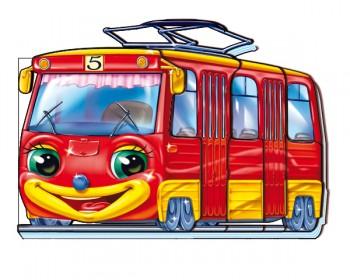Переповнений трамвай