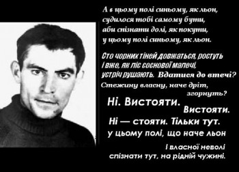 Пам`яті Василя Стуса