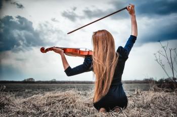 Скрипка-любов