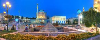 Дрімає древній Київ