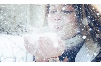 Білим пилом,  сніжним димом...