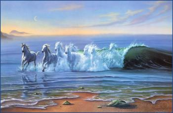 Коні на хвилях