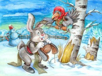 Зимові заячі розваги