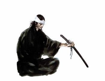 Поранений самурай