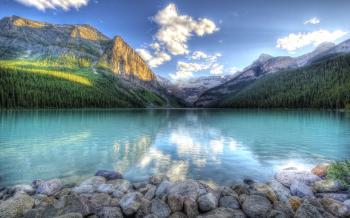 Гавань синьоокого озерця