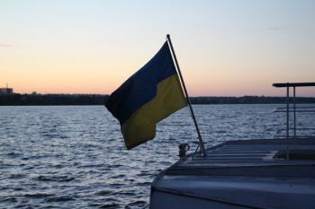 Руда наповнює Дніпро