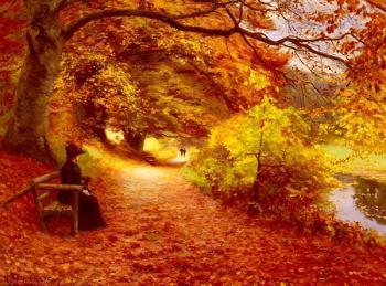 Згасли ватри у серці. Це осінь...