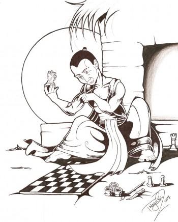 Легенда возникновения шахмат
