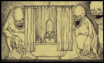 Хто під ванною