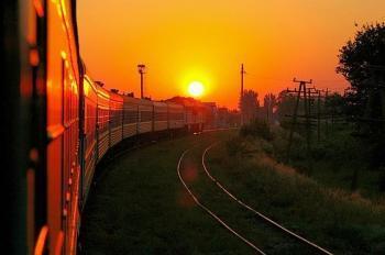 Потяг рушає