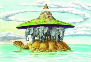 Черепаха і слони...