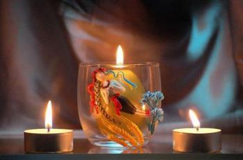 Запалю  свічку...