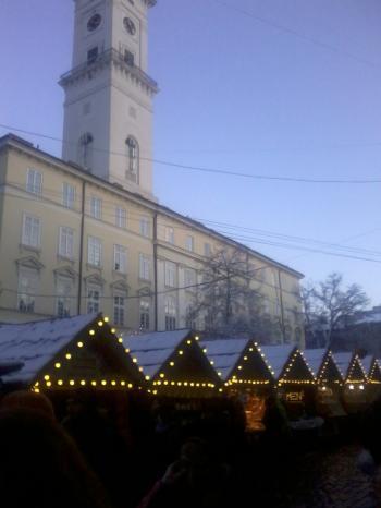 Львів і Різдво...