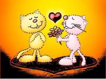 Валентинка для Котиків