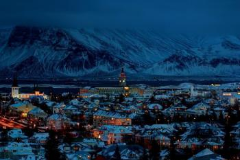 Зимняя ночь/ Winternacht